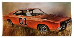 General Lee Beach Towel