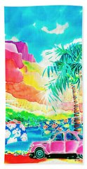 Gentle Breeze Beach Towel