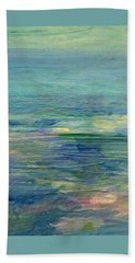 Gentle Light On The Water Beach Towel