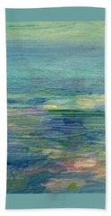 Gentle Light On The Water Beach Sheet