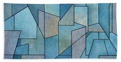 Beach Sheet featuring the digital art Geometric Abstraction IIi by David Gordon