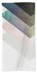 Geometric Layers Beach Towel