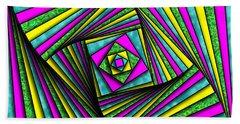 Geometry Art Beach Towel