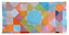 Beach Sheet featuring the digital art Geometry by Jutta Maria Pusl