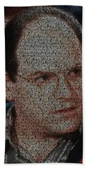 George Costanza Quotes Mosaic Beach Sheet