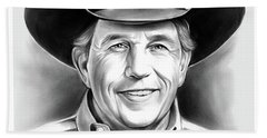 George Strait Beach Towel