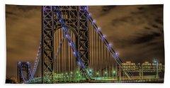 George Washington Bridge Beach Sheet