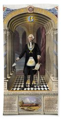 George Washington, Freemason Beach Towel