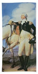 George Washington Beach Towel by John Trumbull