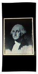 Beach Sheet featuring the photograph George Washington by Richard W Linford
