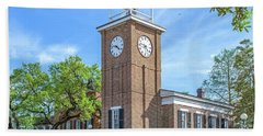 Georgetown Clock Tower Beach Towel