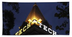 Georgia Tech Georgia Institute Of Technology Georgia Art Beach Towel