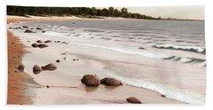 Georgian Bay Beach Beach Sheet by Kenneth M  Kirsch