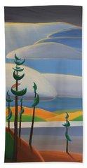 Georgian Shores - Right Panel Beach Towel