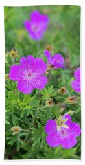 Geranium Beach Towel