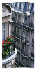 Geraniums - Paris Beach Sheet
