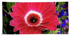 Gerbera Bella Beach Towel