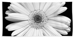 Single Gerbera Daisy Beach Sheet