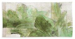 Beach Sheet featuring the digital art Gerberie - 30gr by Variance Collections