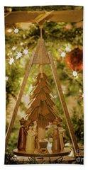 German Christmas Pyramid Beach Sheet