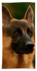 German Shepherd Beach Sheet