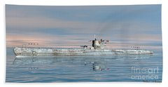 German Submarine U-99 Beach Towel