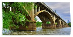 Gervais Street Bridge Beach Towel