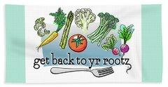 Get Back To Yr Rootz Beach Sheet