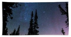Beach Towel featuring the photograph Getting Lost In A Night Sky by James BO Insogna