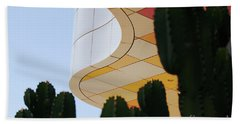 Getty Architecture Cactus Color Curves  Beach Towel