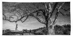 Gettysburg Below Little Round Top Beach Sheet