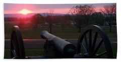 Gettysburg Cannon Beach Sheet
