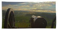 Gettysburg Canon Beach Towel