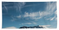 Ghost Clouds Beach Towel