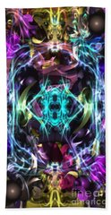 Ghost In The Machine Beach Towel
