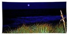 Ghost Moon Beach Towel