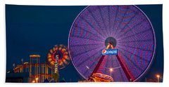 Giant Ferris Wheel Beach Sheet