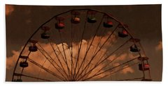 Giant Wheel Beach Towel by David Dehner