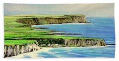 Giants Causeway Coastal Route, Northern Ireland Beach Towel