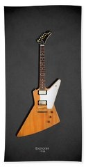 Gibson Explorer 1958 Beach Towel