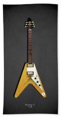 Gibson Flying V Beach Towel