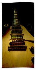 Guitar Triple Pickups Spotlight Series Beach Towel