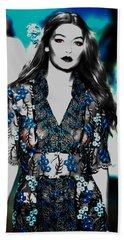 Gigi Hadid 1e Beach Towel by Brian Reaves