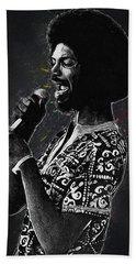 Gil Scott-heron Beach Sheet by Semih Yurdabak