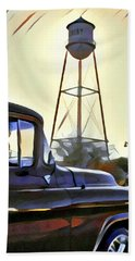 Gilbert Arizona Water Tower Beach Sheet by Karyn Robinson