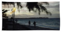 Gili Nights Beach Towel