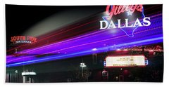 Gilley's Dallas Night Club Beach Towel