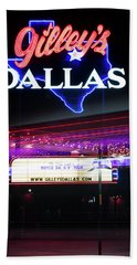 Gilley's Dallas V3 Beach Towel