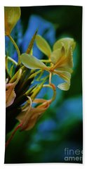Beach Towel featuring the photograph Ginger Blossom by Craig Wood