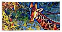 Giraffe  Beach Sheet